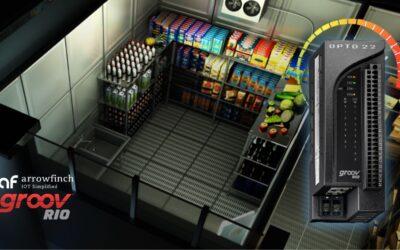 Cloud based freezer temperature monitoring